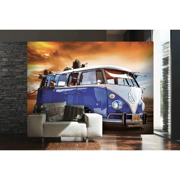 Veľkoformátová tapeta Modrý VW, 315x232 cm