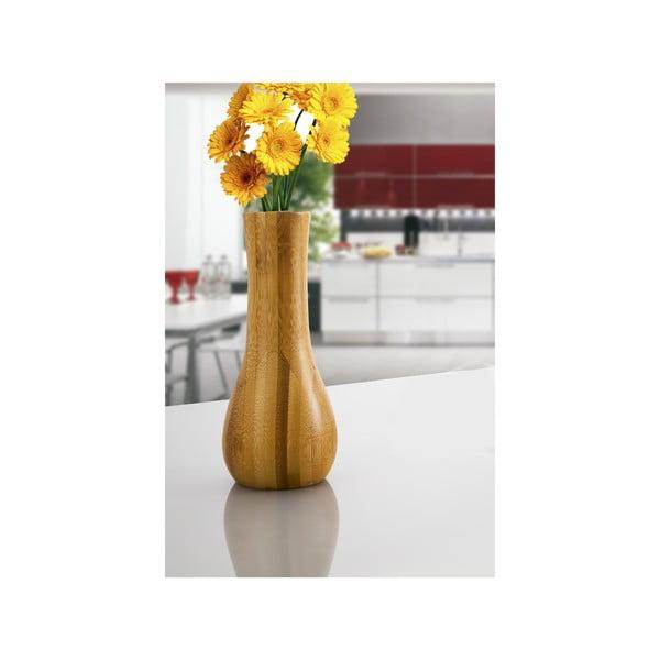 Bambusová váza Lotus, 13 cm