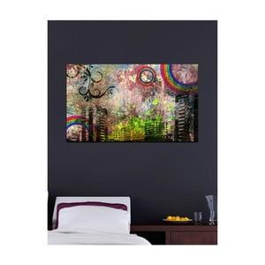 Obraz Grunge City, 41 x 70 cm