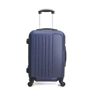 Modrý cestovný kufor na kolieskach Hero Maroko, 37l
