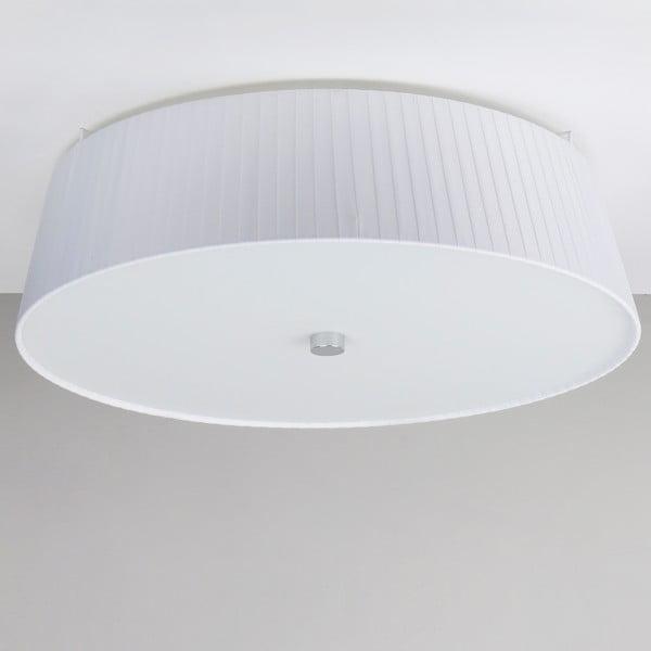 Biele stropné svietidlo Bulb Attack Dos Plisado,⌀45cm