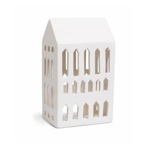 Biely keramický svietnik Kähler Design Urbania Lighthouse Church