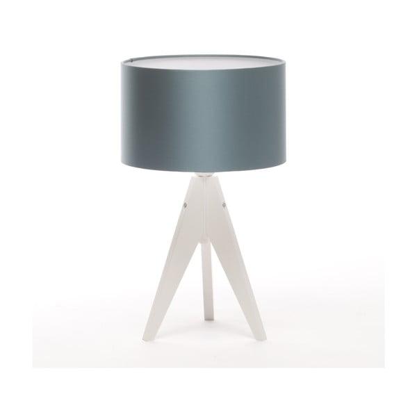 Stolná lampa Artista White/Ice Blue, 28 cm