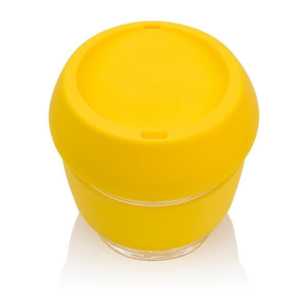 Eko hrnček na kávu Joco Cup 227 ml, žltý