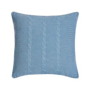 Vankúš s výplňou Fancy Light Blue, 43x43 cm