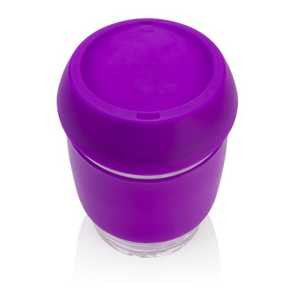 Eko hrnček na kávu Joco Cup 340 ml, fialový