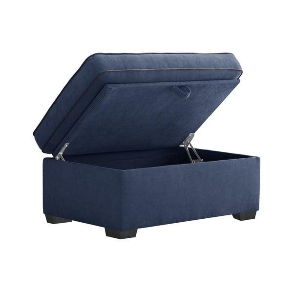 Trojdielna sedacia súprava Jalouse Maison Serena, námornícka modrá