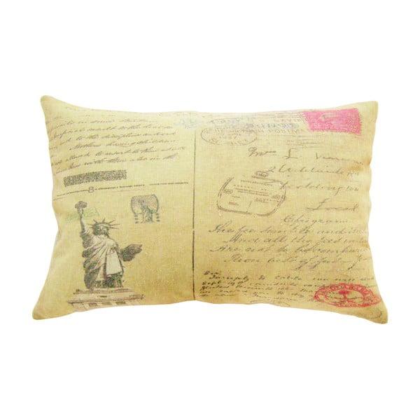 Vankúš Postkarten, 45x30 cm
