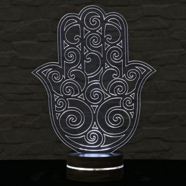 3D stolová lampa Hamsa II