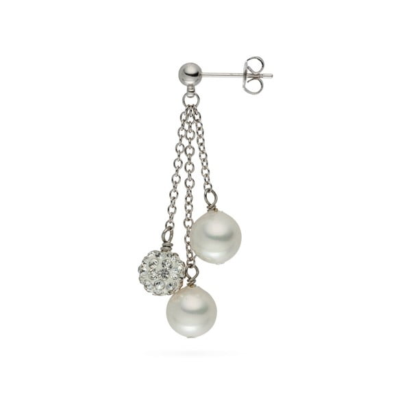 Perlové náušnice Nova Pearls Copenhagen Annie
