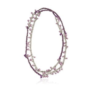 Dámsky náhrdelník v striebornej farbe NOMA Lynn