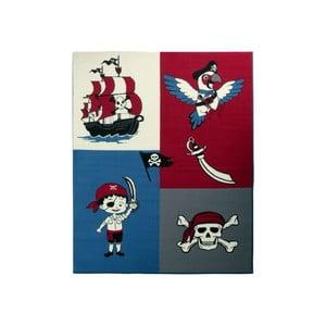 Koberec City & Mix - červený pirát, 140x200 cm