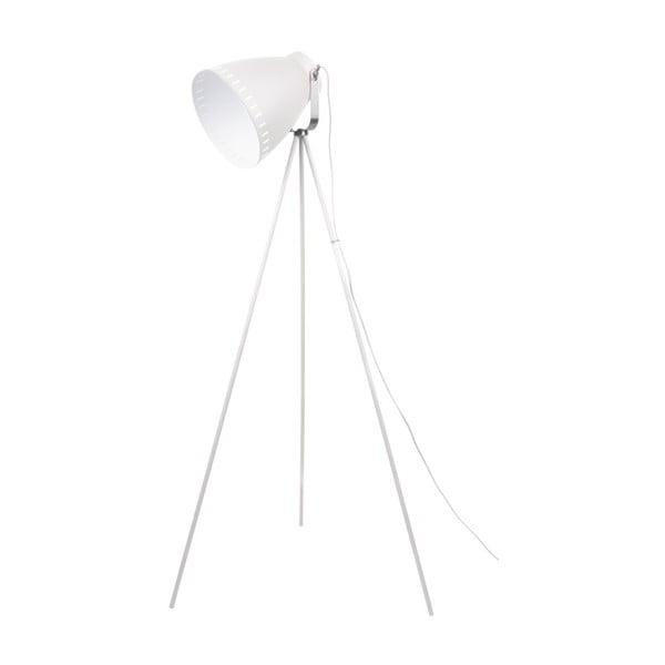 Biela voľne stojacia lampa Tristar