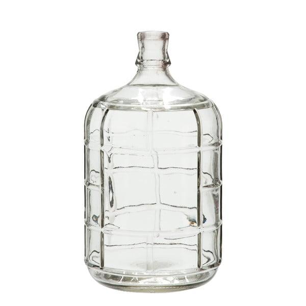 Sklenená váza J-Line Check, 27cm