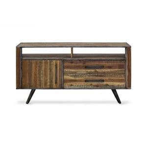 TV komoda z masívneho akáciového dreva Massive Home Robbie, 150 x 75 cm