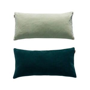 Zelený obojstranný bavlnený vankúš OYOY Lia