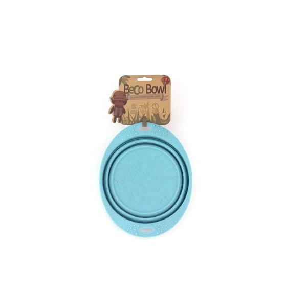 Cestovná miska Beco Travel Bowl 22 cm, modrá