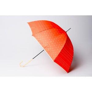 Bodkovaný dáždnik Dots, oranžový