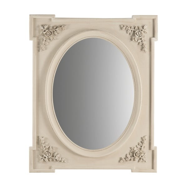Zrkadlo Grigio Anticato, 80x65 cm