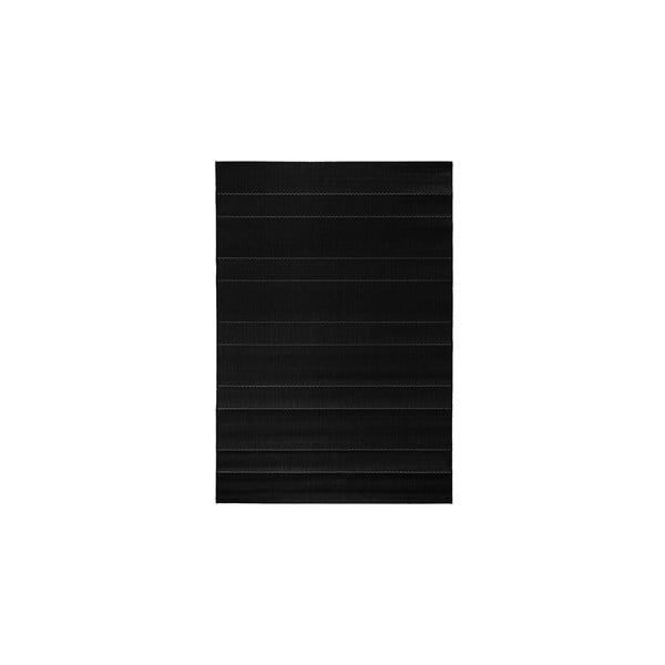 Koberec vhodný do exteriéru Sunshine 80x150 cm, čierny