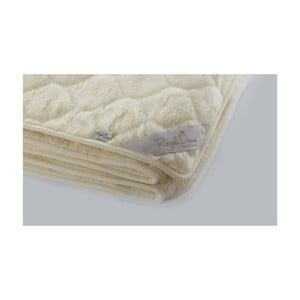 Vlnená deka Royal Dream Cashmere Beige, 200x200cm