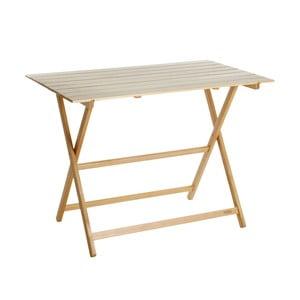Skladací stôl z bukového dreva Valdomo Excelsior, 60×10 cm