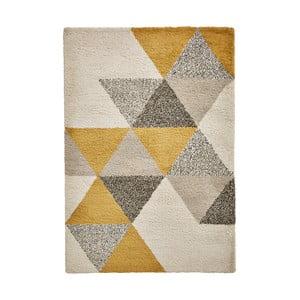 Žltobéžový koberec Think Rugs Royal Nomadic, 160 x 220 cm
