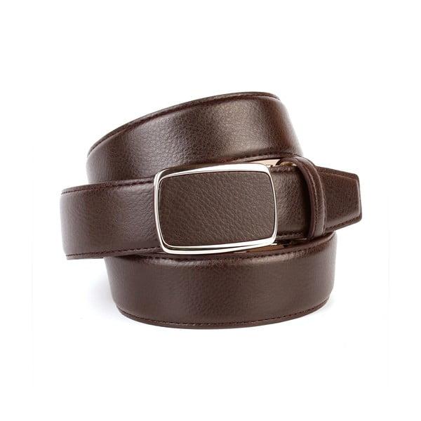 Pánsky kožený opasok 10T20 Brown, 100 cm