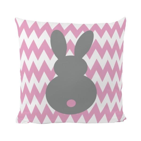 Vankúš Bunny Two, 50x50 cm