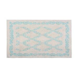 Bavlnený koberec Gina 120x180 cm, tyrkysový
