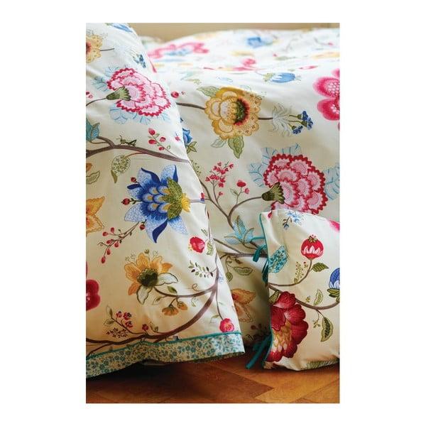 Béžová obliečka na vankúš Pip Studio Floral Fantasy, 60x70cm