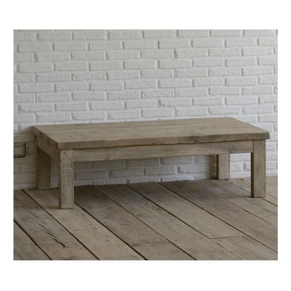 Stolík z recyklovaného dreva Old Wood, 75x130 cm