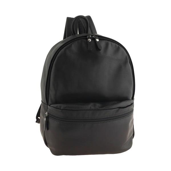 Čierny kožený batoh Ore Diece Rovigo