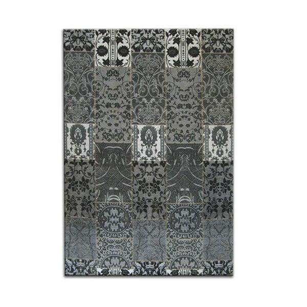 Antracitový koberec OVERSEAS Seattle, 160x230cm