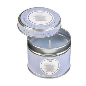 Aroma sviečka v plechovke Fresh Linen, doba horenia 32 hodín