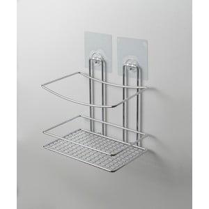 Nástenný polička do sprchy bez nutnosti vŕtania Compactor Shower
