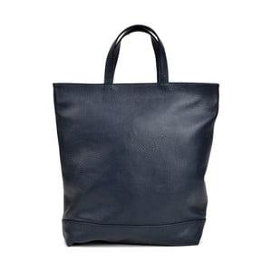 Tmavomodrá kožená kabelka Isabella Rhea Filippo