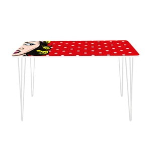 Pracovný stôl Lady In Dots