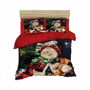 Vianočné obliečky na dvojlôžko Anna, 200×220 cm
