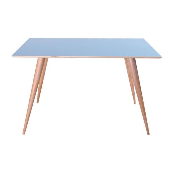 Modrý jedálenský stôl Ragaba Planet Rectangular
