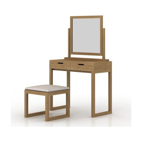 Toaletný stolík z dubového dreva Fornestas Sims