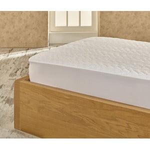 Ochranná podložka na posteľ Single Grey Protector, 100x200 cm