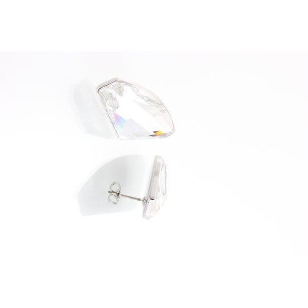 Náušnice Yasmine Crystals Clear