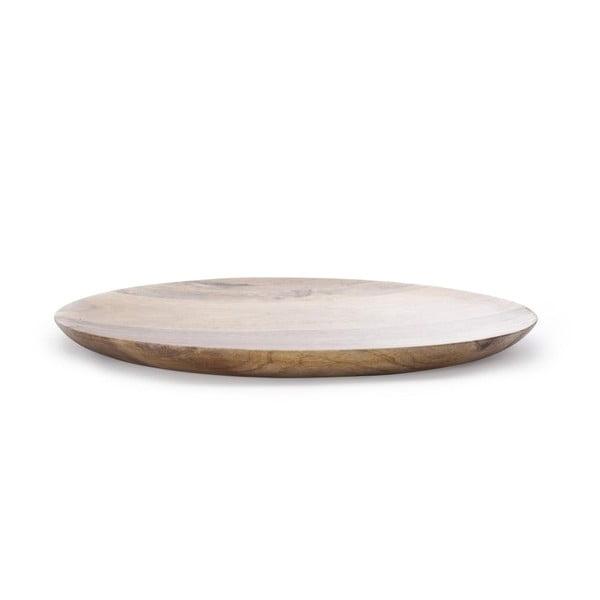 Ručne tvorený drevený podnos NORR11 Oda, 68 cm