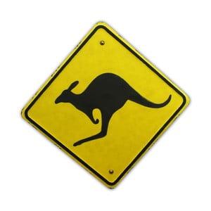 Ceduľa na stenu Kangaroo