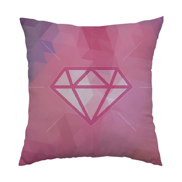 Vankúš Pink Diamond, 40x40 cm