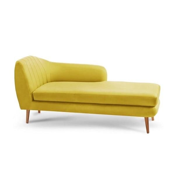 Žltá leňoška Scandi by Stella Cadente Maison Come, pravý roh