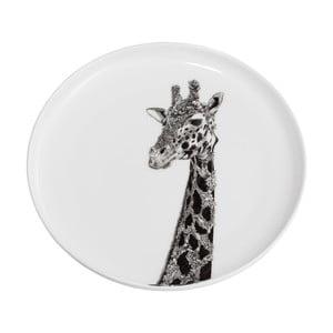 Dezertný tanierik z kostného porcelánu Maxwell & Williams Marini Ferlazzo Africa Giraffe, ⌀ 20 cm