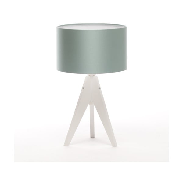 Stolná lampa Artista White/Light Green Blue, 28 cm