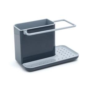 Sivý kuchynský stojanček na umývacie prostriedky Joseph Joseph